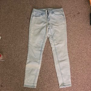 Mission mid rise jegging size 6